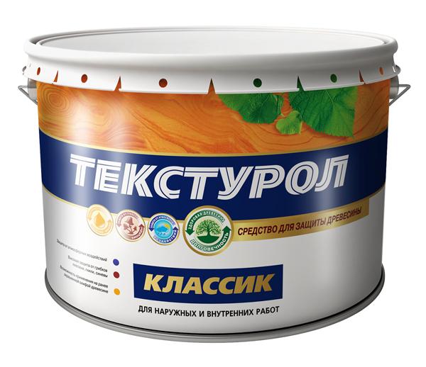 Деревозащитное средство Текстурол классик Тик Лакра, 10л